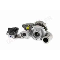 Turbo pour Volkswagen Touareg V10 TDI left side 313 CV